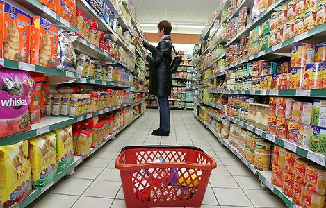 Evolution des prix à la consommation sur un an en juin 2012