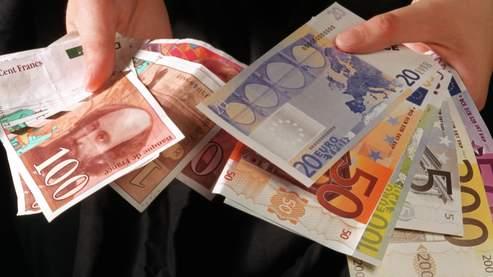 Encore un mois pour échanger ses francs en euros