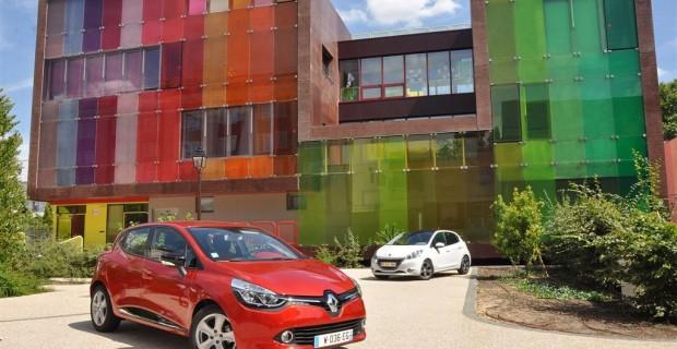 La Peugeot 208 et Clio 4 arrivent en 2012