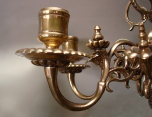 Lustre en bronze