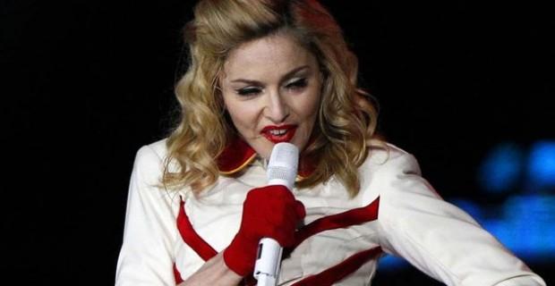 Madonna au stade de France en juillet 2012