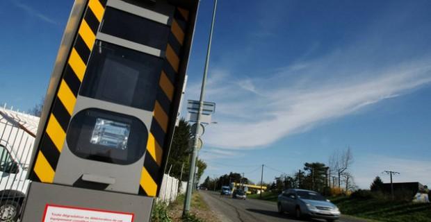 Les radars qui ont le plus flashé en 2011
