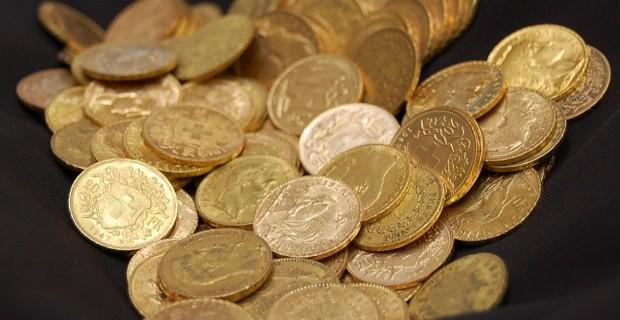 Acheter de l'or sous forme de pièces