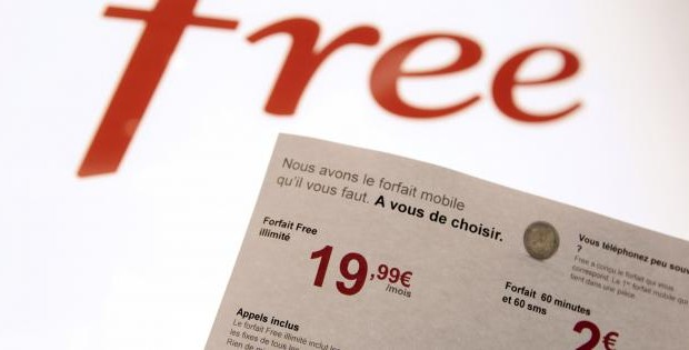 805 000 nouveaux abonnés Free Mobile au 3ème trimestre 2012
