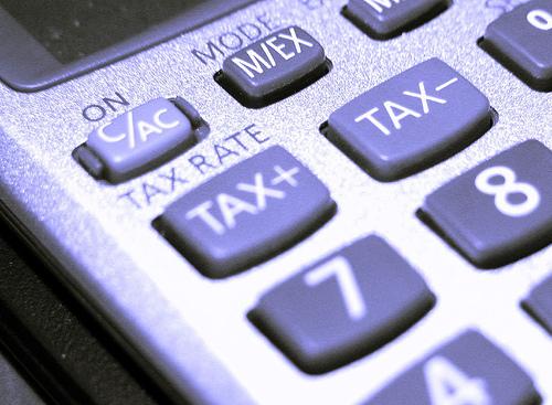 Une taxe