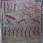 Dalle de la tombe royale de Kivik
