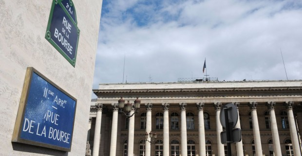 La Bourse de Paris en baisse depuis l'attentat de Nice