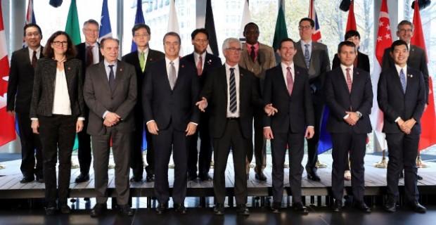 Réunion des pays de l'OMC, sans Trump