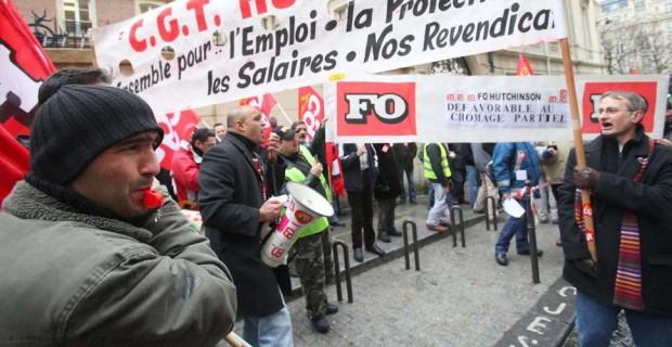 La filiale de Total, Hutchinson, veut supprimer jusqu'à 1000 emplois en France