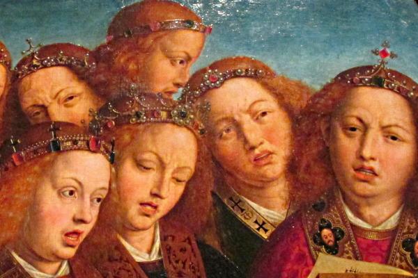 «OMG! Van Eyck was here»